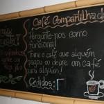 café compartilhado