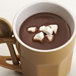 Chocolate quente com marshmallow – Receita
