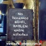 Café – Wi-fi