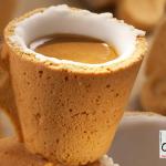 Xícara de café, comestível!