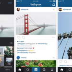 Instagram libera foto e vídeo retangular em modo paisagem e retrato