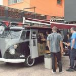 Kombi vira cafeteria ambulante