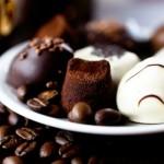 Receita fácil de trufa de café ao licor de cacau